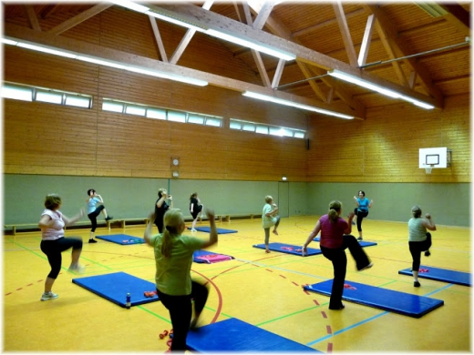Aerobic & Walking Trainingszeiten